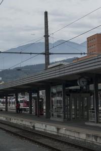 Flugzeug startet in Innsbruck