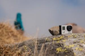 Alex' GoPro in Aktion