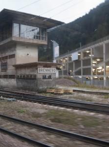Der Beweis - Foto vom Bahnhof Brenner